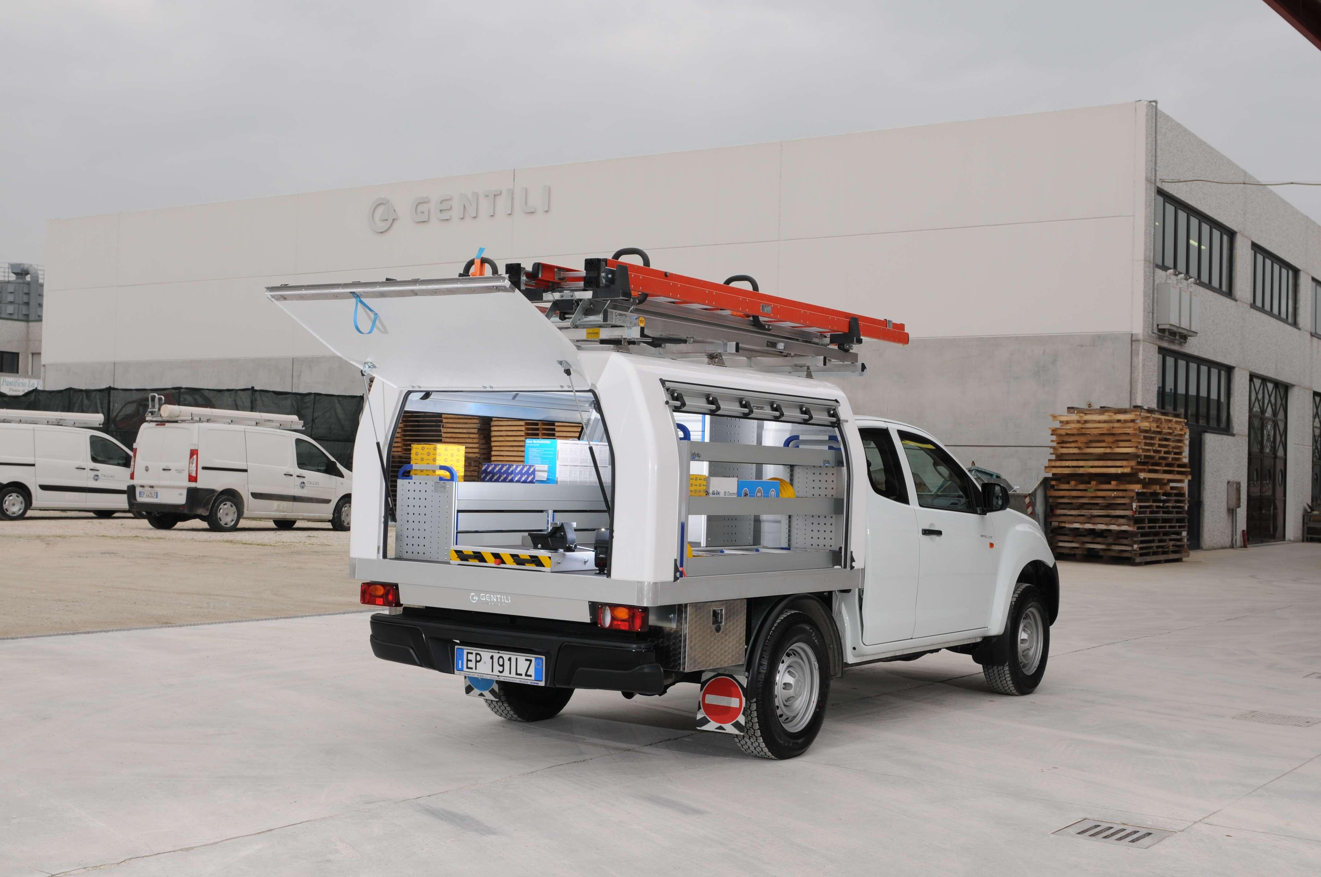 Portaescaleras camioneta Toyota Hilux